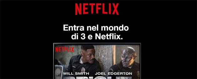 Netflix gratis con 3 per fino a sei mesi: offerte e come attivare