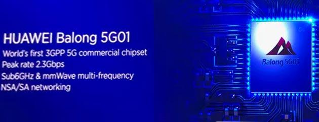 Huawei Balong 5G01 il primo chip 5G al mondo