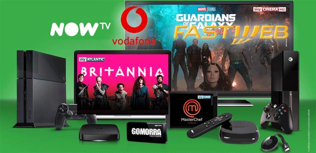 Now TV cambia la fatturazione per gli abbonati con Fastweb e Vodafone