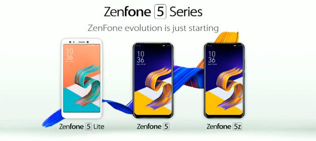 Asus ZenFone 5, 5Z e 5 Lite in Italia: Foto, Video, Caratteristiche e Prezzi
