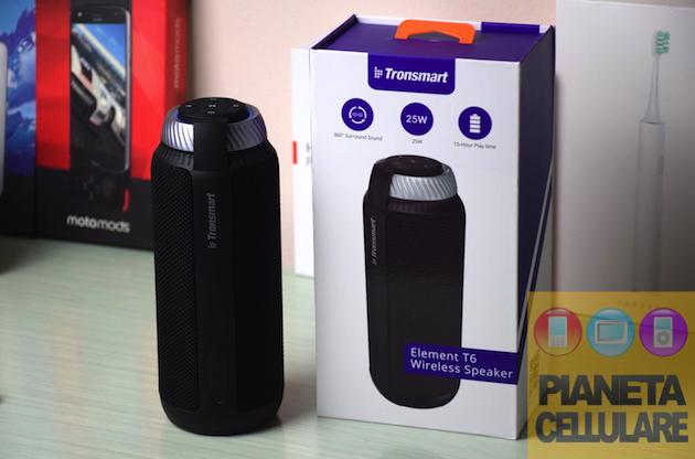 Recensione speaker Tronsmart T6, ottimo sound al giusto prezzo