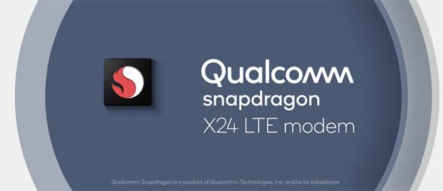 Qualcomm Snapdragon X24 Gigabit modem LTE viaggia a 2 Gbps