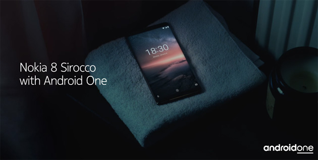 Nokia 8 Sirocco, smartphone premium ultra resistente con Snapdragon 835 e 6GB di RAM
