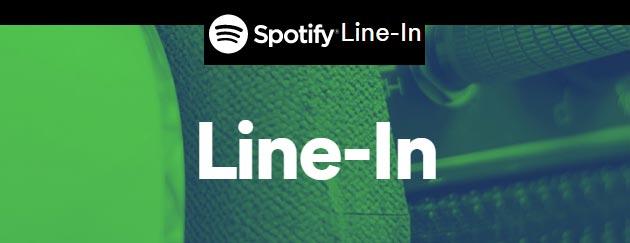 Spotify Line-In invita gli utenti a suggerire aggiunte e modifiche alle informazioni della musica in catalogo