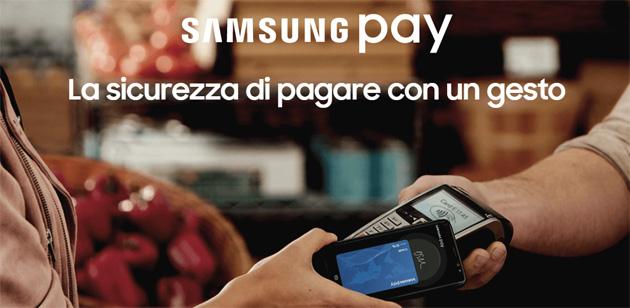 Foto Samsung Pay come funziona e si usa per pagare con smartphone Galaxy o smartwatch Gear