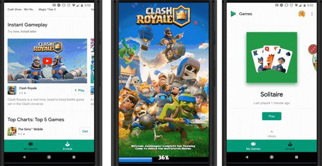 Google Play Instant, un modo rapido per provare app e giochi senza installazione