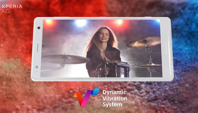Il Sistema di Vibrazione Dinamica di Sony come funziona su Xperia XZ2