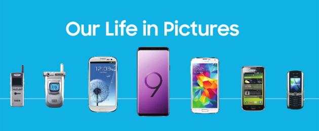 Samsung, evoluzione della fotocamera negli smartphone dal 2000 al 2018 (Galaxy S9)