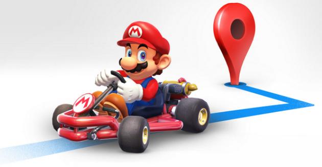 Super Mario in Google Maps: come avere Mario compagno di viaggi