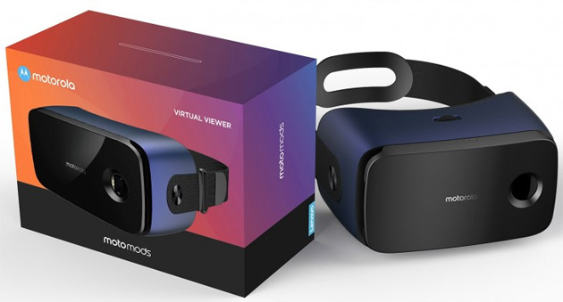 Foto Virtual Viewer MotoMod, anticipato il visore VR di Motorola in arrivo