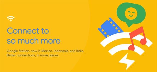 Google Station offre un WiFi migliore e veloce in Messico, India e Indonesia