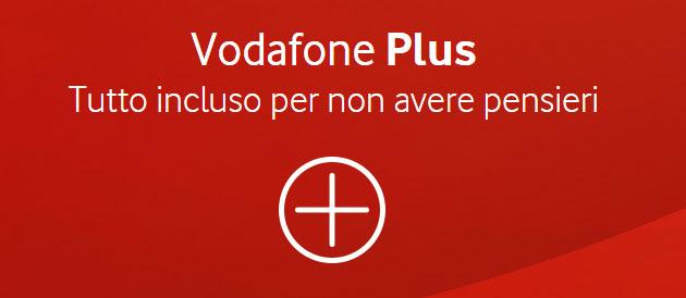 Vodafone Plus, opzioni con inclusi i servizi accessori Segreteria Telefonica, Chiamami e Recall e 414