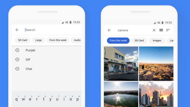 Files Go: condivisione piu' sicura e rapida, ricerca intelligente, posizione dei file e integrazione con Google Foto