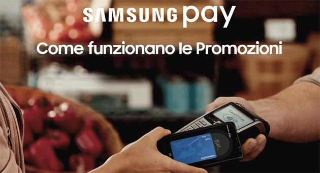 Samsung Pay offre promozioni e sconti per chi paga o usa Samsung Pay