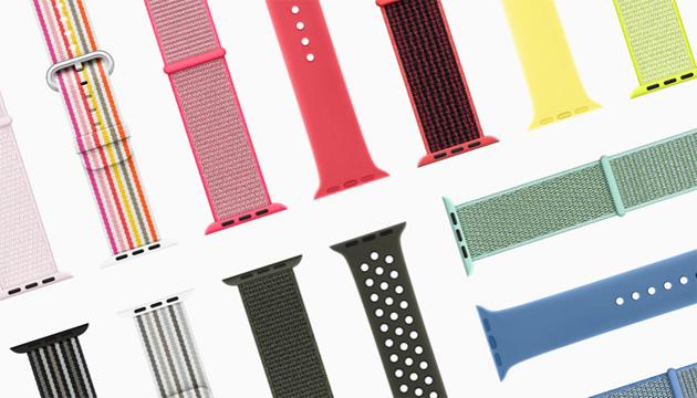 Apple Watch, nuovi cinturini con colori e stili primaverili