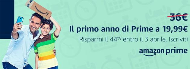 Amazon Prime, il costo Annuale aumenta a 36 euro con alternativa opzione Mensile