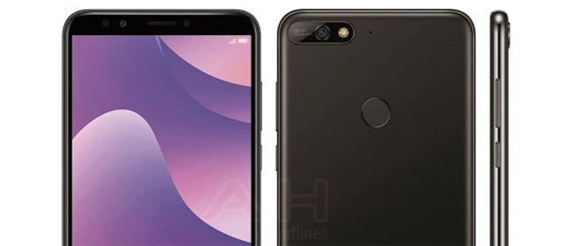 Huawei Y7 2018 rivelato da render