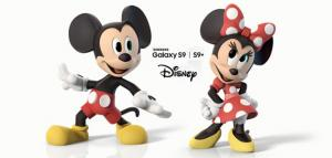 Galaxy S9, disponibili Emoji AR di Topolino e Minnie