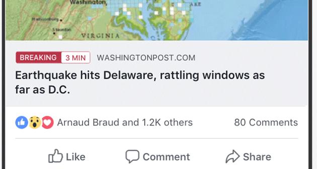 Facebook etichetta le ultime notizie