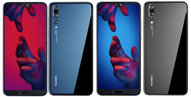 Huawei P20 ufficiale con notch e P20 Pro con Tripla Camera: Specifiche, Foto, Video e Prezzi in Italia