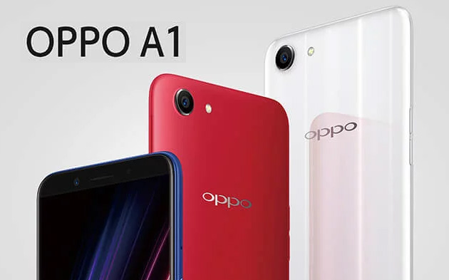 Foto Oppo A1 ufficiale con display 5,7 18:9, RAM 4GB e Face Unlock