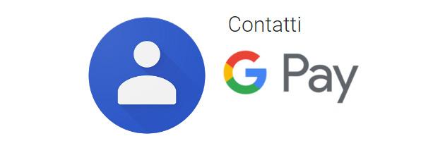 Google Contatti consente di inviare denaro tramite Google Pay