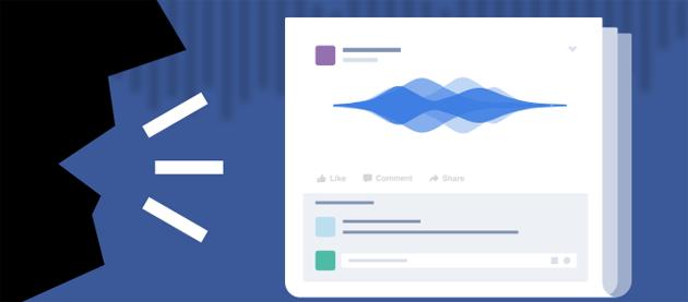 Facebook testa i Post Vocali