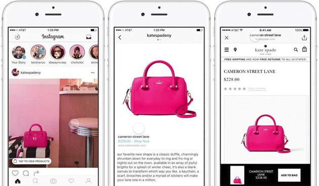 Foto Shopping su Instagram, nuovi modi per acquistare in Storie ed Esplora