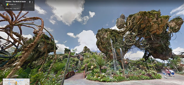 I parchi Disney arrivano su Google Maps