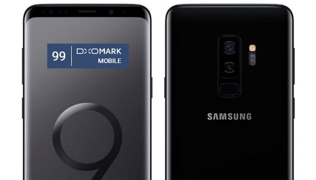 Samsung Galaxy S9 Plus con fotocamera da 99 punti DxOMark