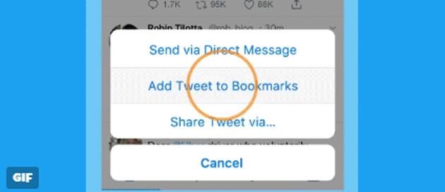 Segnalibri su Twitter, come salvare i tweet preferiti