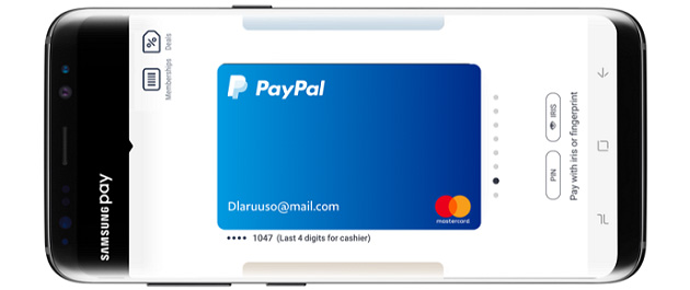 Samsung Pay fa pagare tramite PayPal negli USA