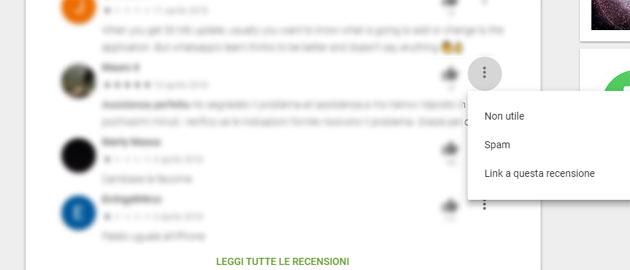 Google Play Store, la cronologia delle modifiche delle recensioni diventa pubblica