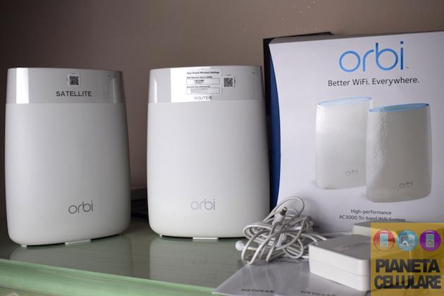 Recensione Netgear Orbi RBK50, connessione Wi-Fi ovunque