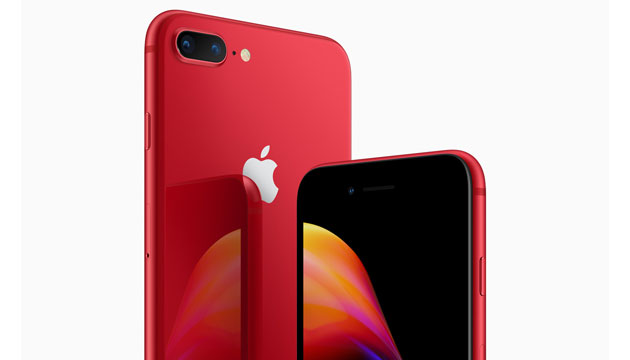 Apple iPhone 8 e iPhone 8 Plus in rosso per la (PRODUCT)RED Special Edition