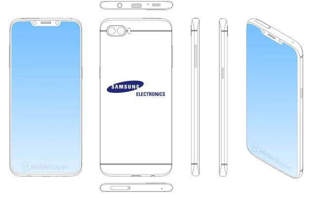 Samsung brevetta smartphone con notch e fullscreen al 99 per cento
