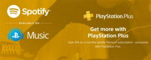 Spotify Premium con PlayStation Plus scontato del 10 per cento