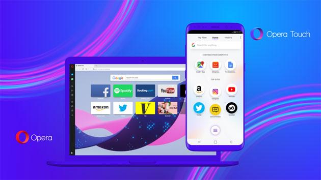 Opera Touch per smartphone e Opera 52 per desktop con Ricerca istantanea e Flow