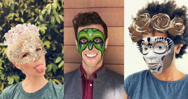 Snapchat ha maschere AR esclusive per la TrueDepth Camera di Apple su iPhone X
