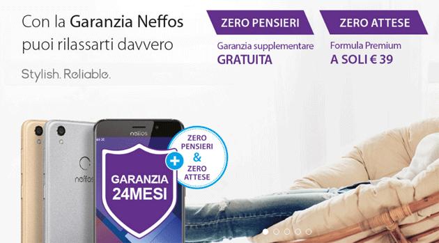 Neffos, nuove formule di garanzia Zero Pensieri e Zero Attese