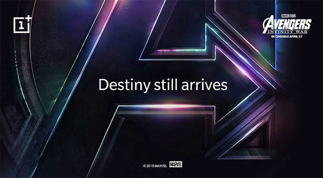 Foto OnePlus 6, confermata la Avengers: Infinity War limited edition