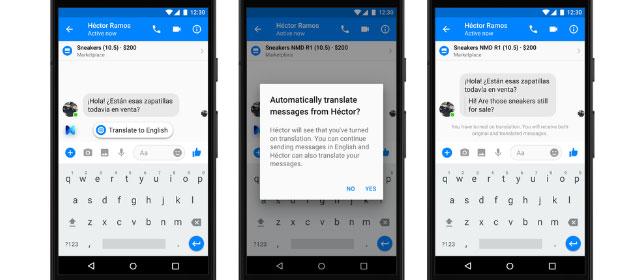Facebook sfrutta il suo assistente M per le traduzioni in Messenger