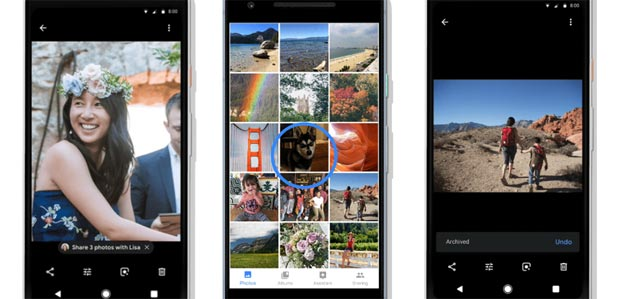 Google Foto: Azioni Suggerite e funzione per colorare le immagini in bianco e nero