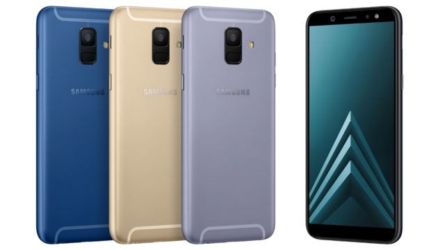 Samsung Galaxy A6 e A6+ con Infinity Display in Italia