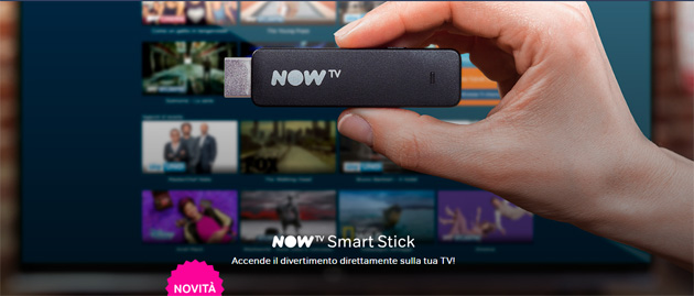 NOW TV Smart Stick, mini-box per guardare Sky in streaming