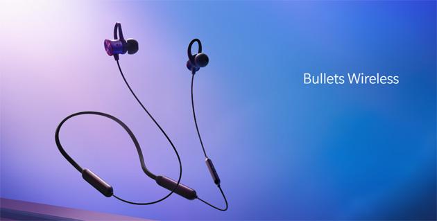 OnePlus Bullets Wireless, auricolari senza fili con aptX e Google Assistant