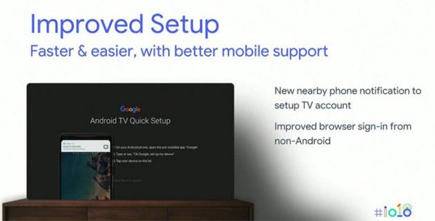 Android P su Android TV porta configurazione rapida, migliori prestazioni e aggiornamenti piu' frequenti