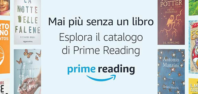 Prime Reading, libri e riviste digitali inclusi in Amazon Prime