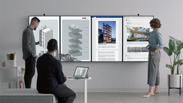 Surface Hub 2, seconda generazione del mega schermo Microsoft