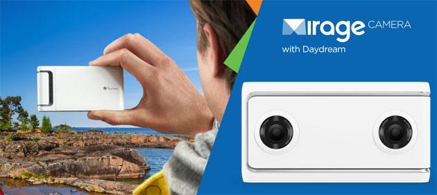 Lenovo Mirage Camera consente a tutti di condividere la propria realta' virtuale